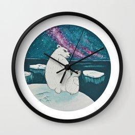 Nordic Light Wall Clock