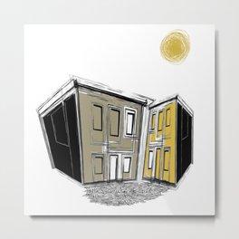 The Yellow Neighbourhood Metal Print