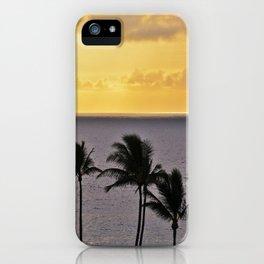 Maui Sunset iPhone Case