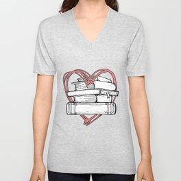Love Reading Unisex V-Neck