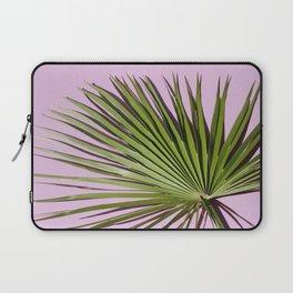 Palm on Lavender Laptop Sleeve