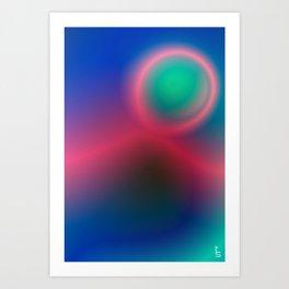 Electric I Art Print