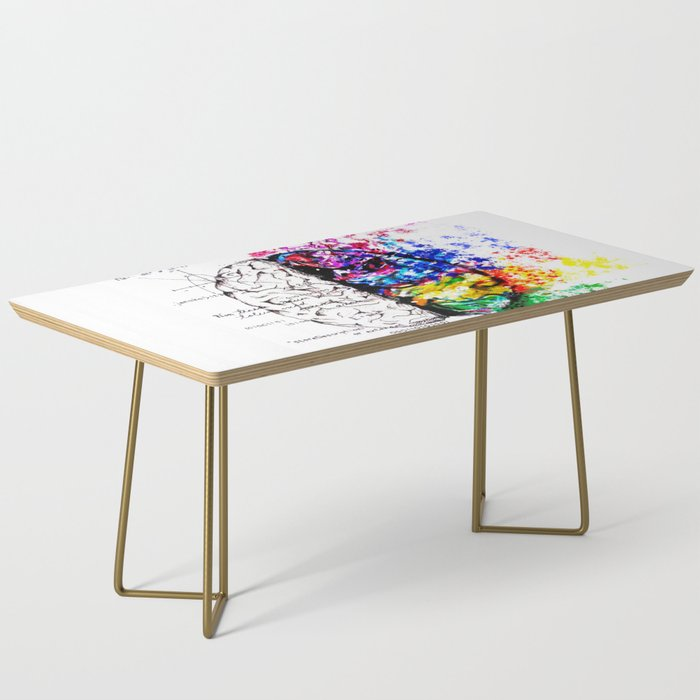 Conjoined Dichotomy Coffee Table