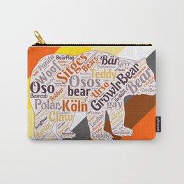 Gay bear art queer gift idea bear pride season  Carry-All Pouch