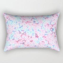Neon Light Pattern Rectangular Pillow