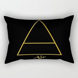 Air Element Symbol Rectangular Pillow