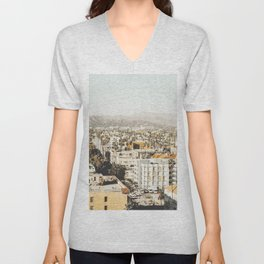 Hollywood California Unisex V-Neck