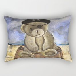 Pirate Ahoy Teddy Rectangular Pillow