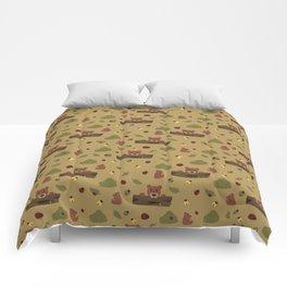 Bears and Beetles  Comforters