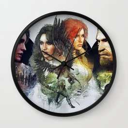 Witcher 3 Wall Clock