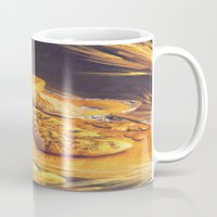 bread Mugs featuring Bread by Richard McGee