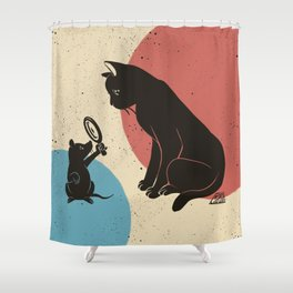 Fortune-telling Shower Curtain
