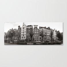 Amsterdam Panorama Canvas Print