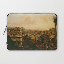 Bernardo Bellotto - The Roman Forum Laptop Sleeve