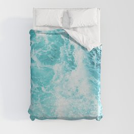 Perfect Sea Waves Duvet Cover
