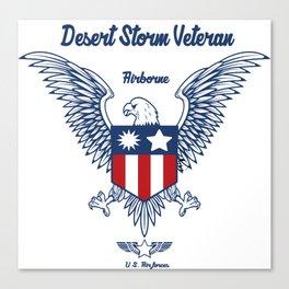 US Airforce Airborne Canvas Print