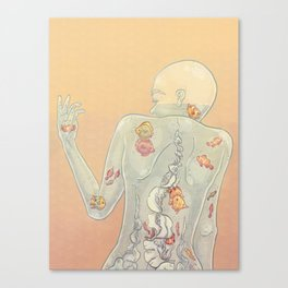 Aquarius Lady Canvas Print