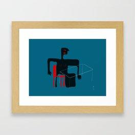 Blueroom Framed Art Print