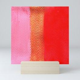 Tri Colore Mini Art Print