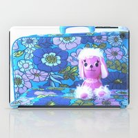 poodle iPad Cases featuring Poodle Packing by Vintage  Cuteness