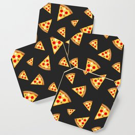 Cool and fun pizza slices pattern Coaster