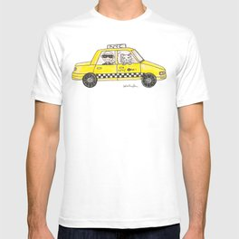 Karl in a Cab T-shirt