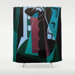 "Juan Gris ""Nature Morte sur une Chaise (Still Life on a Chair)"" (edited 1) Shower Curtain"
