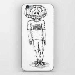 Happy Halloween (B & W) iPhone Skin