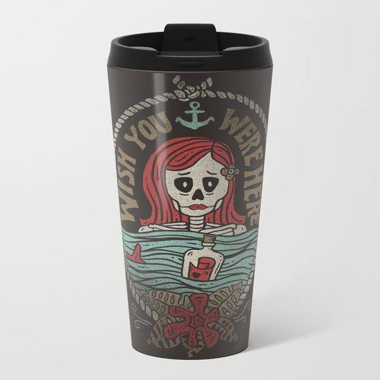Here Metal Travel Mug