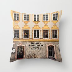 Mozart Residence  Throw Pillow