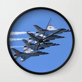 Thunderbirds Show Pass Wall Clock