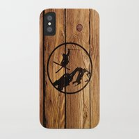 skiing iPhone & iPod Cases featuring Skiing by Paul Simms