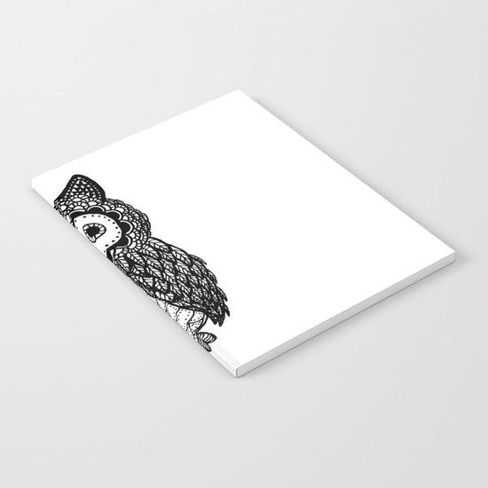 Pattern owl Notebook