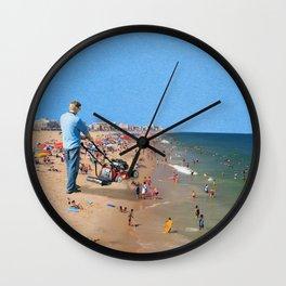 Beach Mower Wall Clock