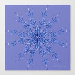 Hand Flower Canvas Print