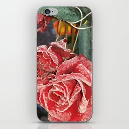 Frostet Roses iPhone Skin