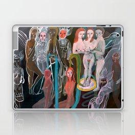 Swimming in the Spirit World Laptop & iPad Skin