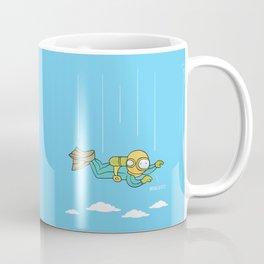 Skydiving Coffee Mug