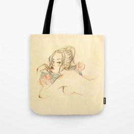 Anna — Friends don't waste wine Tote Bag