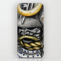 samurai iPhone & iPod Skins featuring Samurai by rchaem