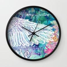 Depth of Flight Wall Clock
