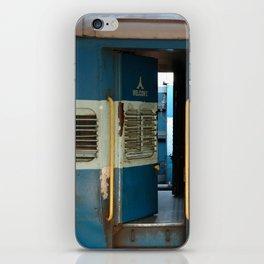 India railway print iPhone Skin