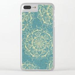Mandala Home Clear iPhone Case