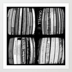 The Bookshelf - Through The Viewfinder (TTV) - Polyptych Art Print