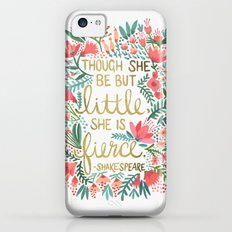 Little & Fierce Slim Case iPhone 5c