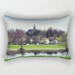 St Marys on the Thames River Rectangular Pillow