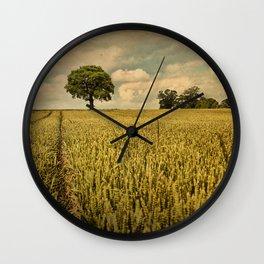 A Summers Walk Wall Clock