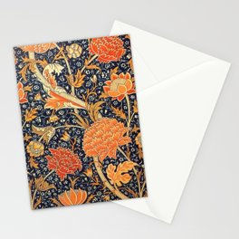 William Morris Cray Floral Art Nouveau Pattern Stationery Cards