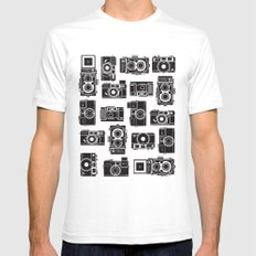Yashica Bundle camera White SMALL Mens Fitted Tee
