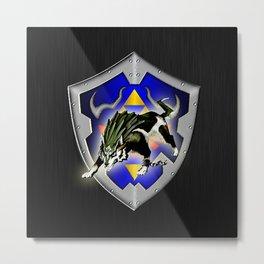 Zelda wolf Metal Print